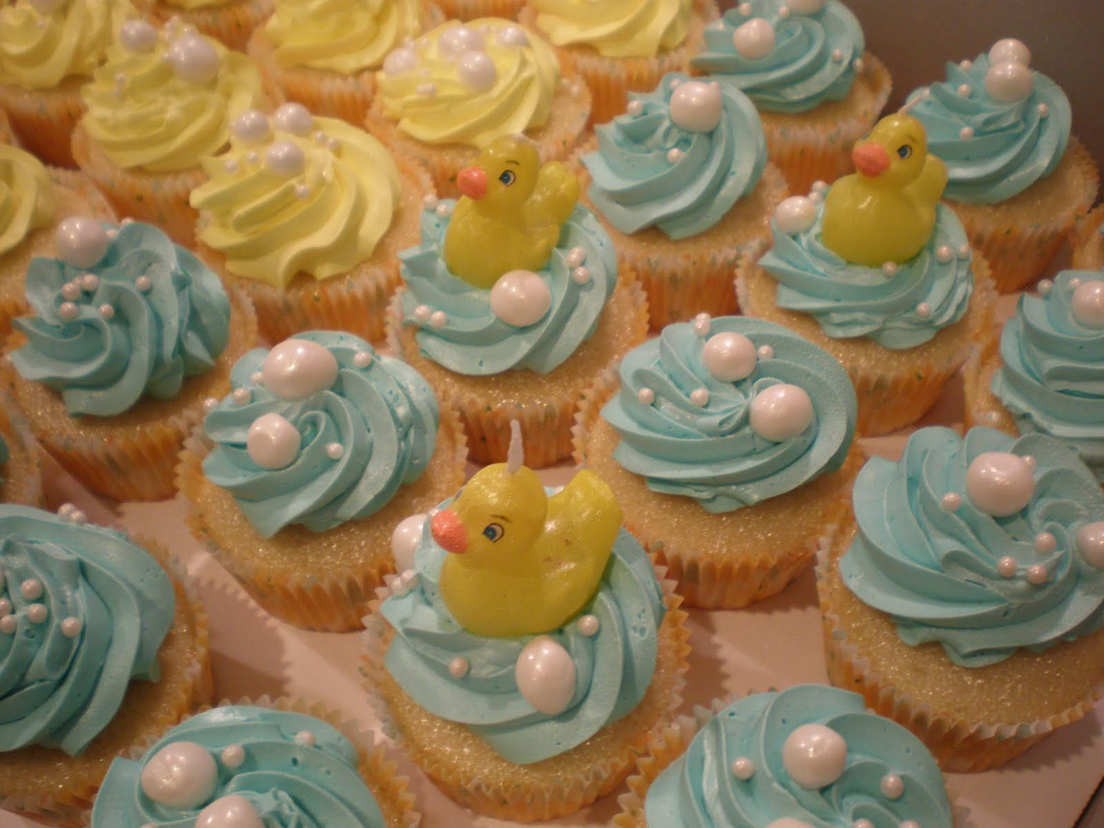 Rubber Duckie Cupcakes | Cupcakes | Pinterest | Ducky baby showers ...