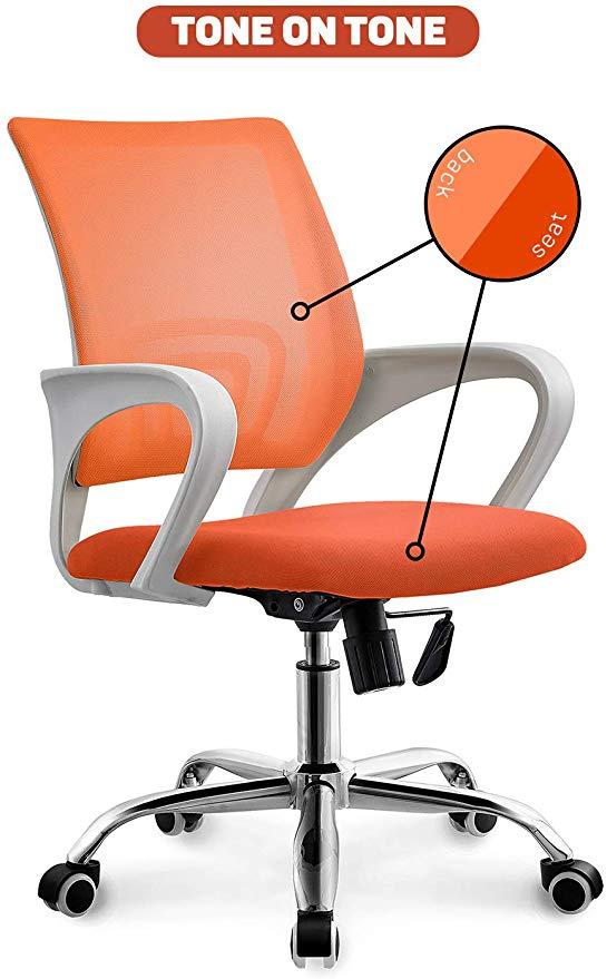 Amazon Com Neo Chair Office Chair Computer Desk Chair Gaming Ergonomic Mid Back Cushion Lumbar Support With Wheels Co Computer Desk Chair Office Chair Chair