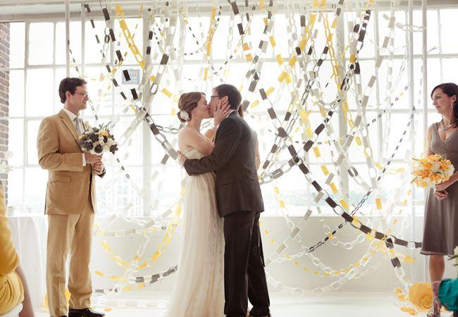 How To Make Wedding Ceremony Backdrop