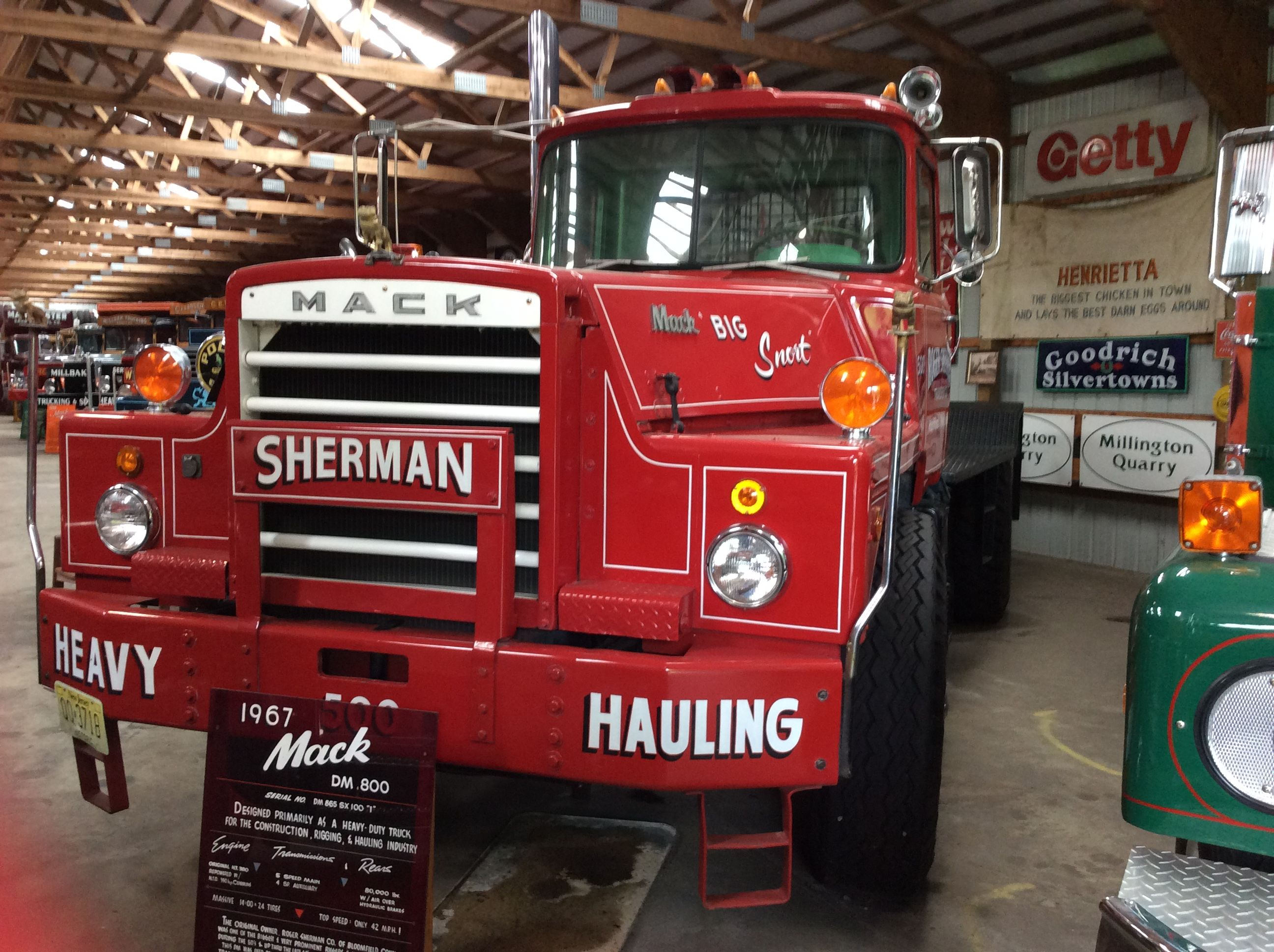 1967 mack dm 800 rugged as they come part of the mahan collection  [ 2592 x 1936 Pixel ]