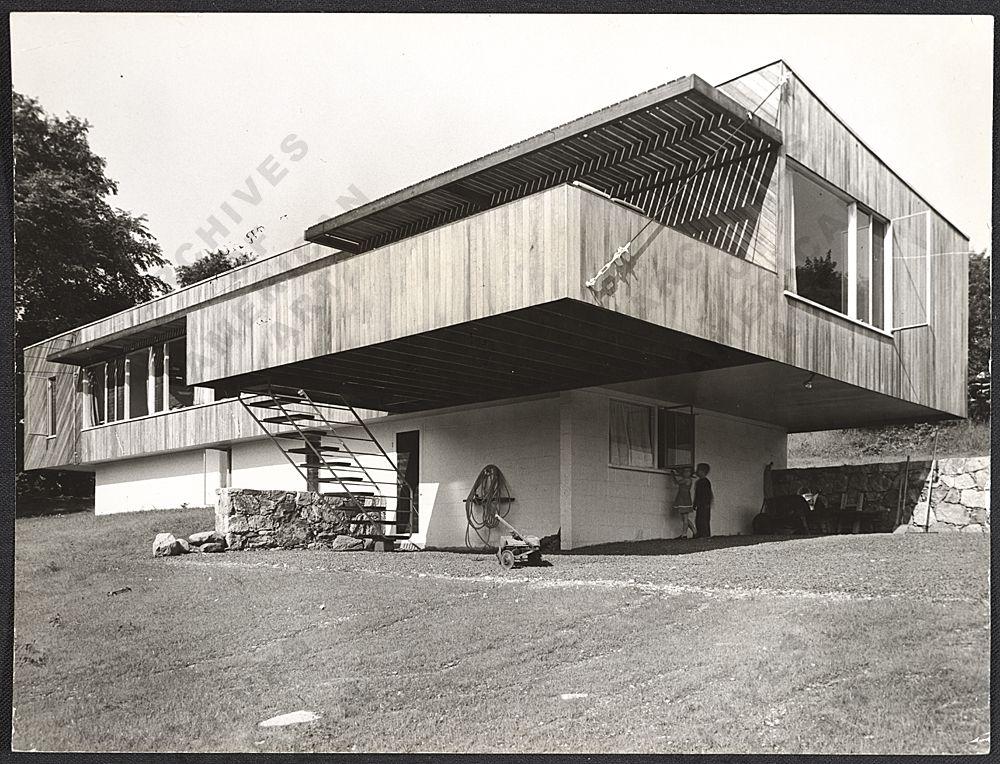 Marcel Breuer Hooper House Ii Breuer House I New Canaan