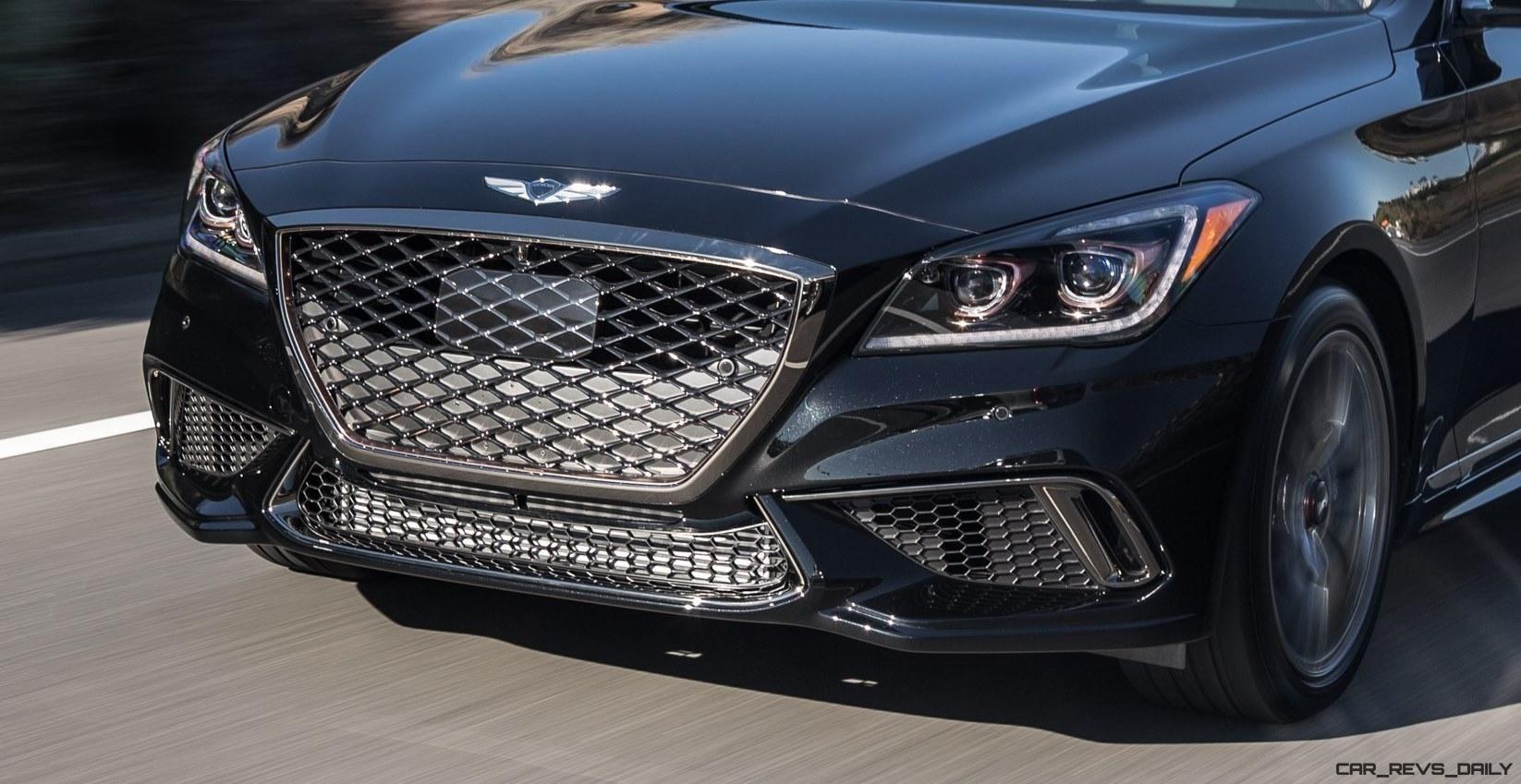 2018 Genesis G80 Sport Shows New Style, V6TT