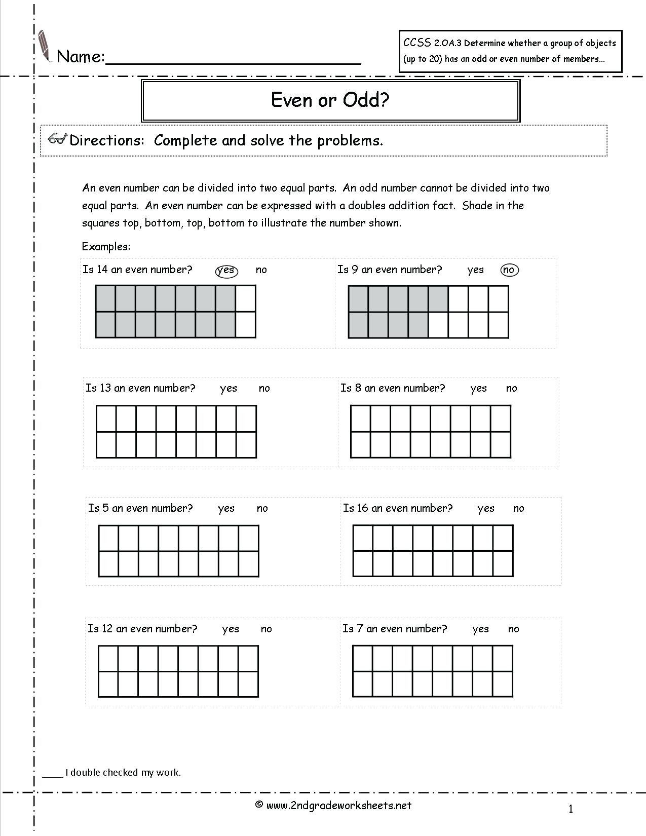 5 Free Math Worksheets Second Grade 2 Multiplication