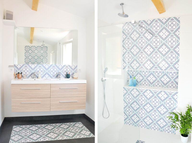 Concevoir une salle de bains sous les combles salle de - Concevoir salle de bain ...