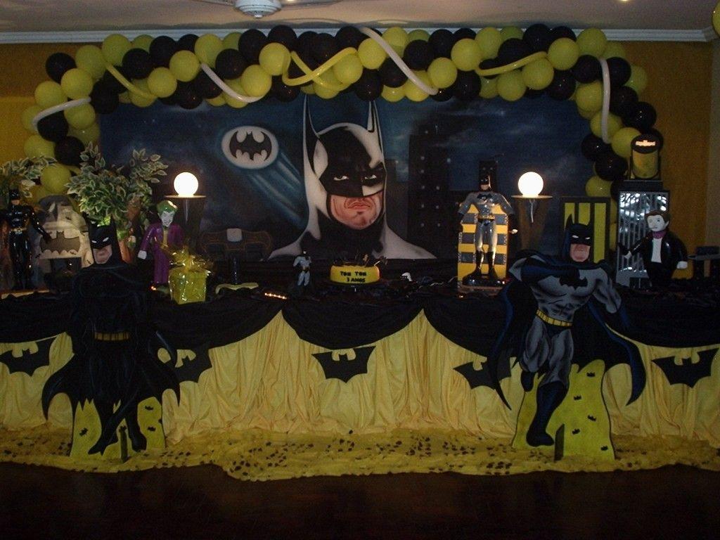 Google themes batman - Batman Birthday Party Ideas