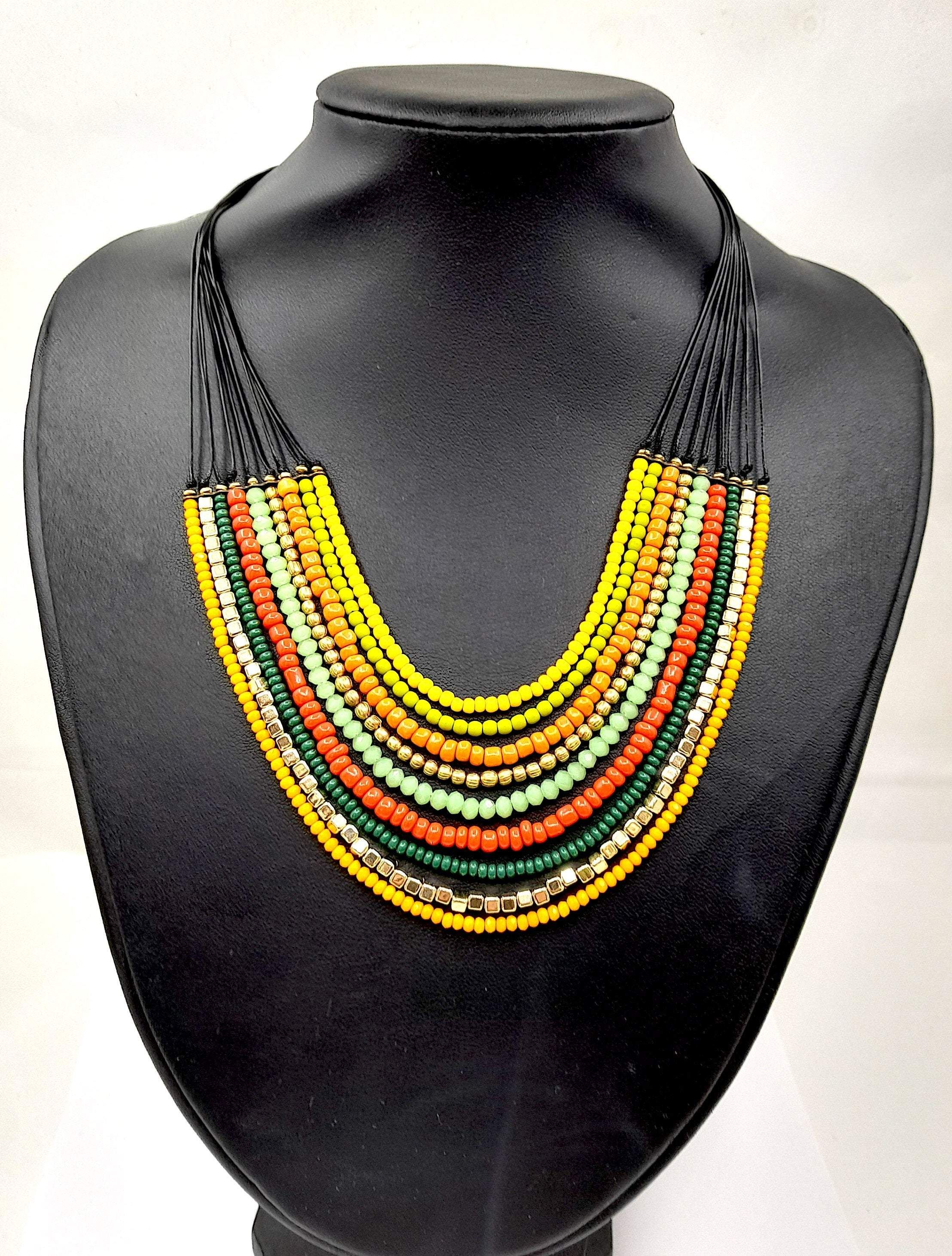 Chunky Rope Necklace - Mixed