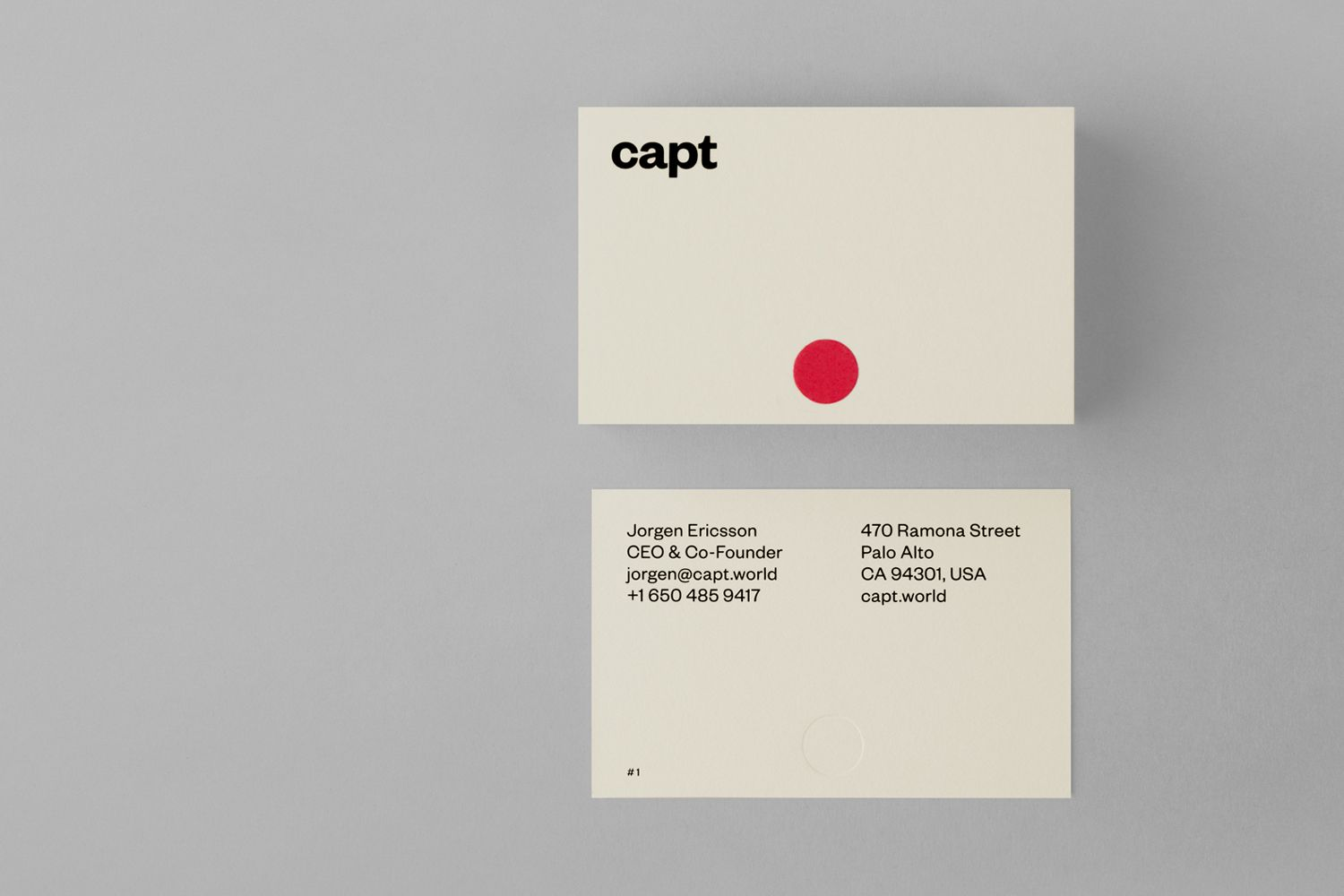 New logo brand identity for capt by bunch bpo business cards brand identity and business cards designed by bunch for video making app and web based reheart Images