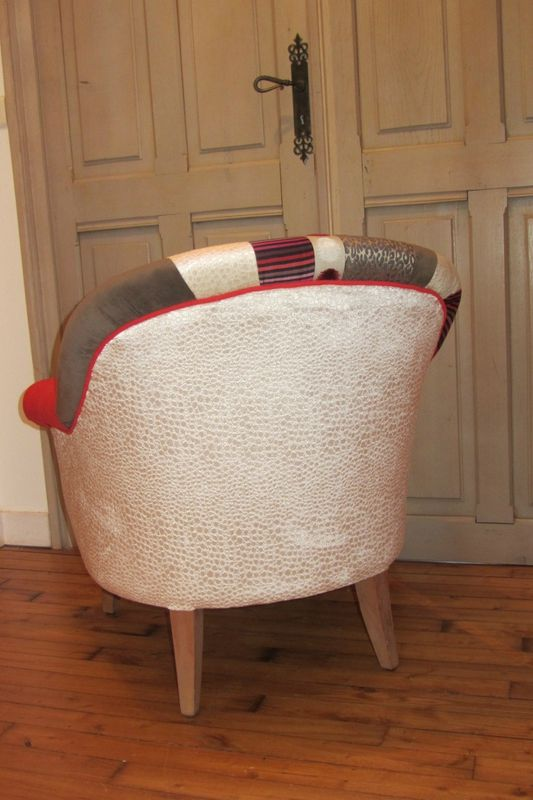 changer le tissu d 39 un fauteuil c t si ges bohars deco. Black Bedroom Furniture Sets. Home Design Ideas