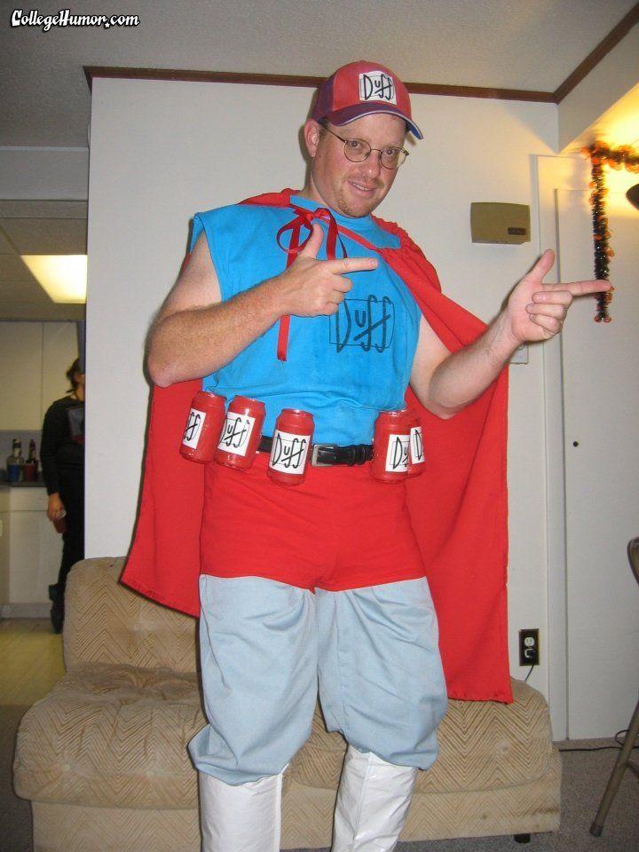 Duffman - CollegeHumor Halloween