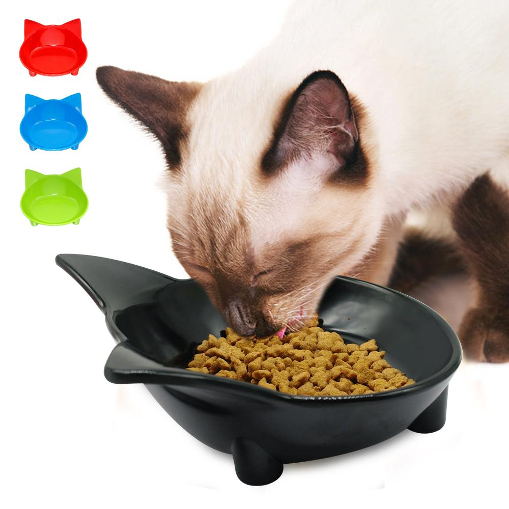 Cat Dog Feeding Bowl Cat Puppy Food Dish Container Pet Puppy Drink