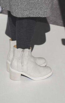 Anaïse | MM6 Maison Martin Margiela Leather Ankle Boots
