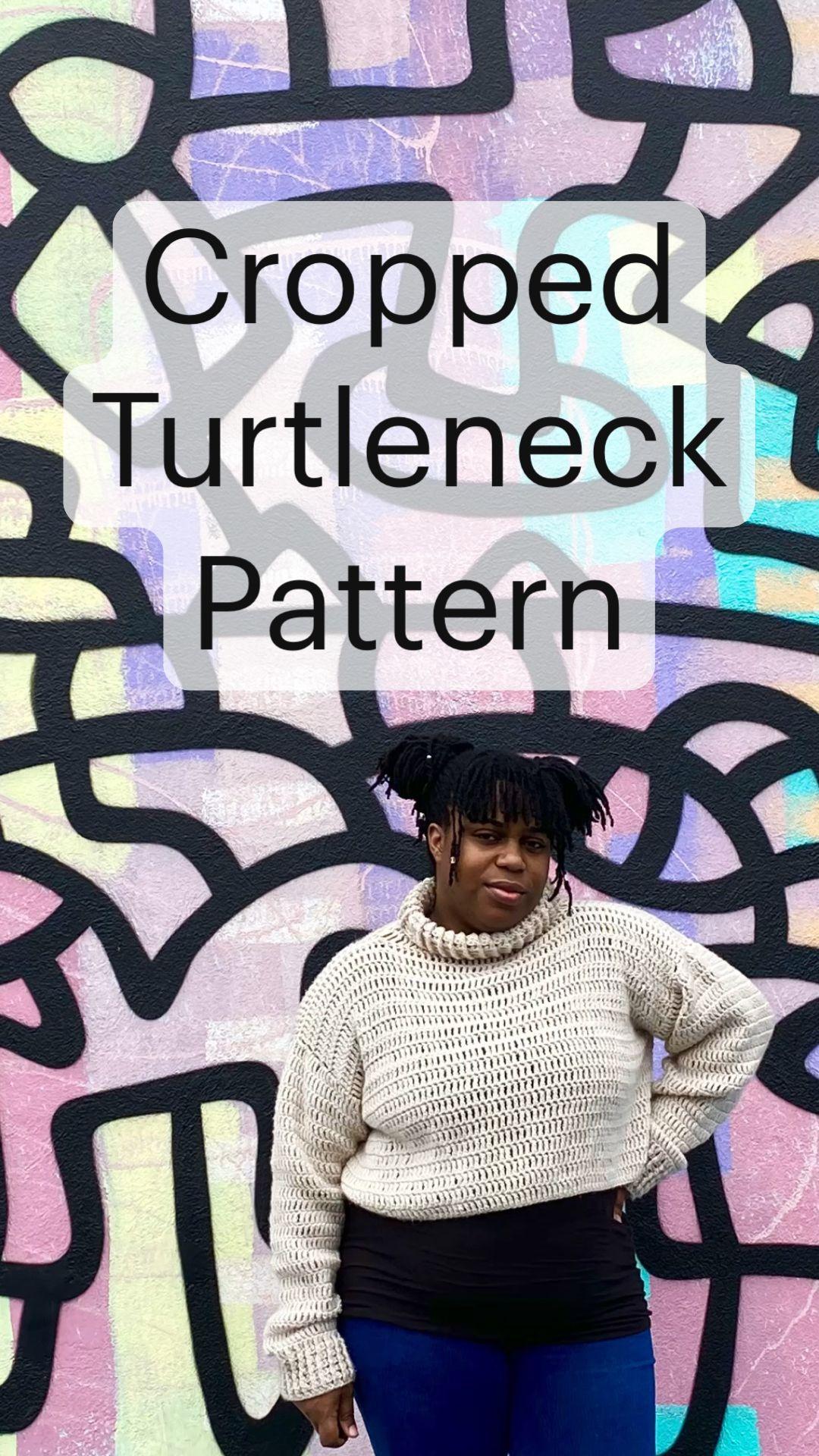 Cropped Turtleneck Pattern