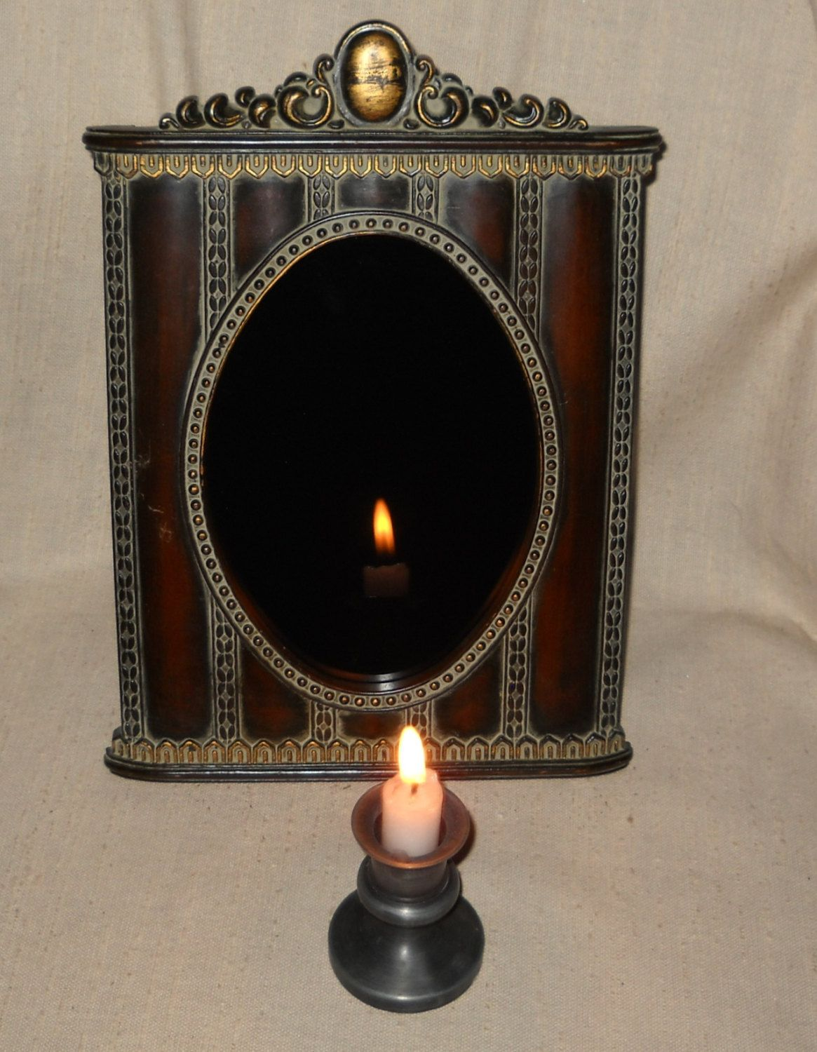 Victorian Scrying Mirror Made on the Full Blood Moon Hunters Moon ...