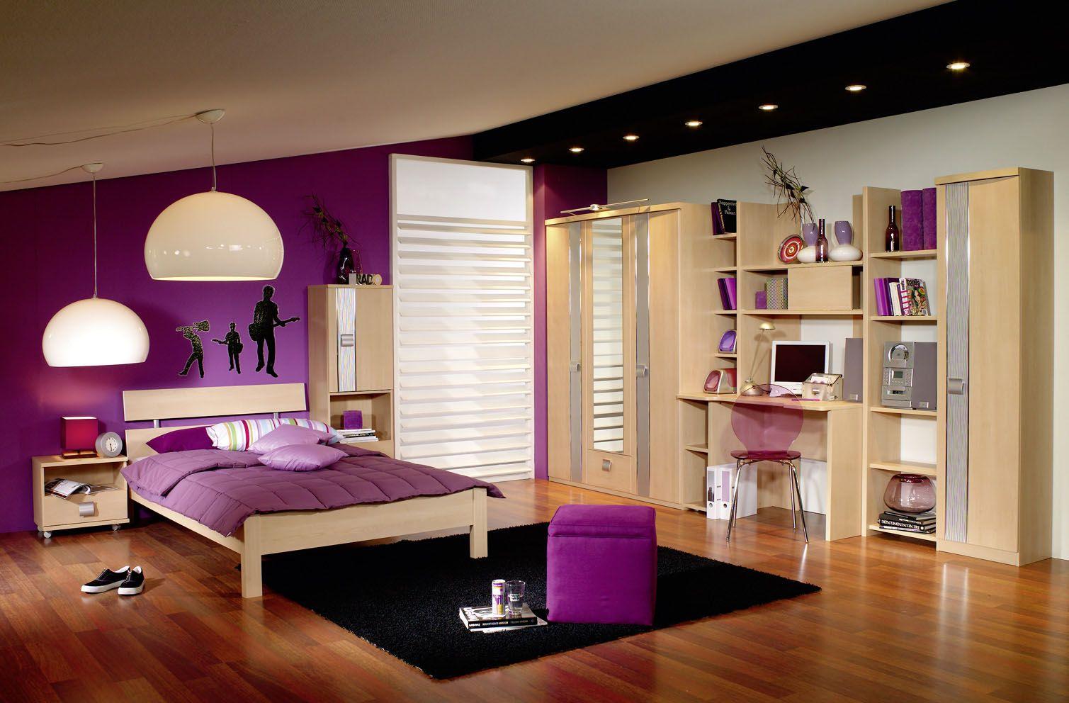 habitaciones para adolescentes mujeres moradas - buscar con google