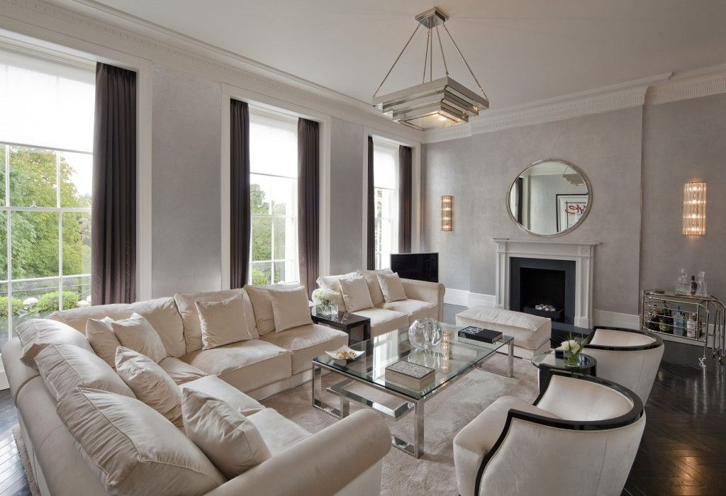 This marylebone townhouse in central london has a for Interior designers central london