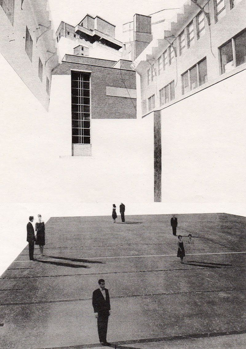 Architecture Drawing Illustrator tristram mason's layering, texturing and repeating | figurative