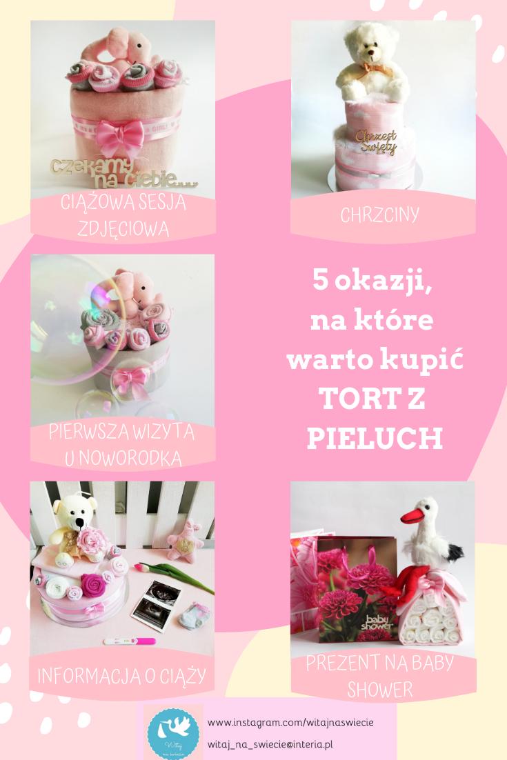 Tort Z Pieluch Prezent Dla Noworodka Chrzciny Baby Shower Ciaza Sesja Zdjeciowa Perfume Bottles Perfume Beauty