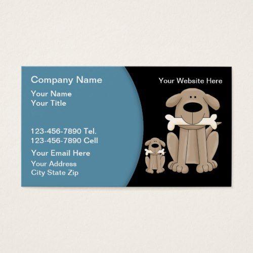Dog Training Business Cards Zazzle Com Dog Training Cool
