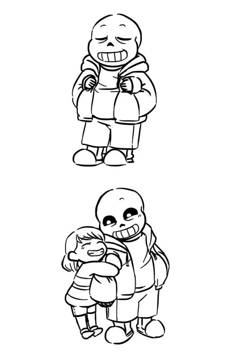 Spaghetti Time More Platonic Sans And Frisk Undertale Cute