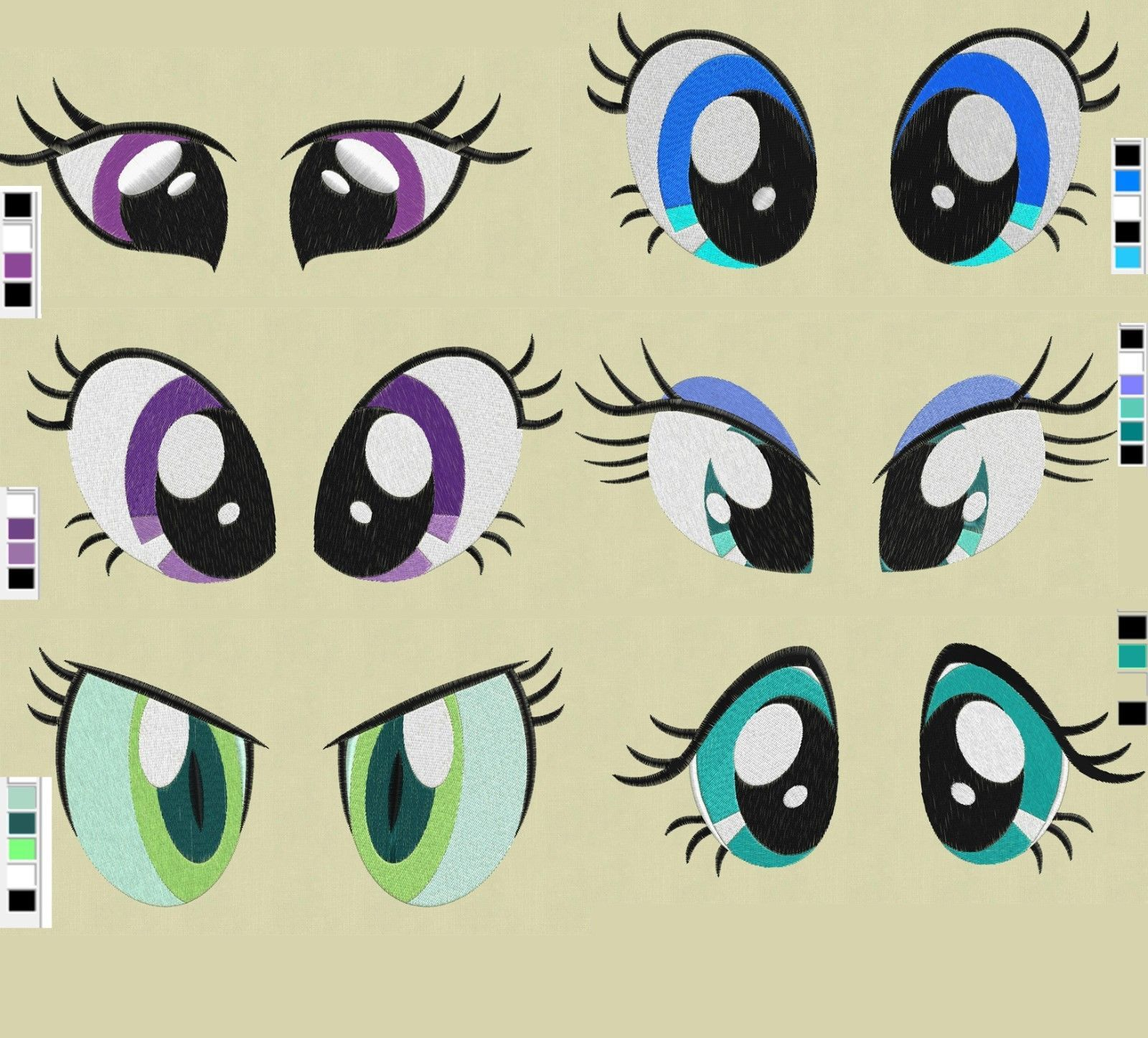 My Little Pony Eyes | teji do | Pinterest | Patrones, Crochet ...