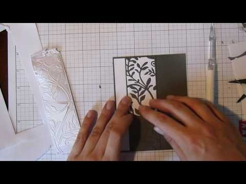 229 creating a card using die cut inlay technique aliexpressdies