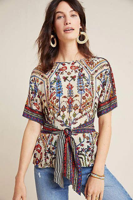 Vineet Bahl Meknes Blouse #ad #AnthroFave #AnthroRegistry Anthropologie #Anthropologie  #musthave #styleinspiration  #ootd #newarrivals #outfitideas #wishlist #bohostyle #bohooutfit #bohemian #bohofashionover50chic