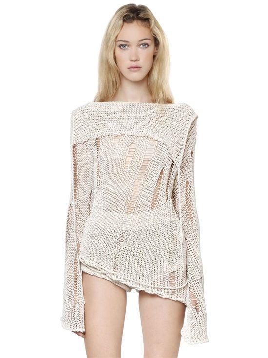 philosophy di lorenzo serafini - women - knitwear - handmade ...