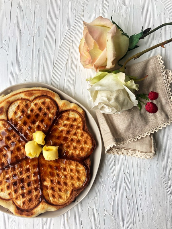 Buttermilk Waffles Eggless Kitchen Therapy In 2020 Waffles Buttermilk Waffles Eggless Recipes