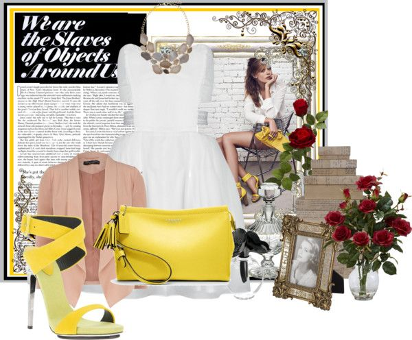 """Honey Mustard"" by zada on Polyvore"
