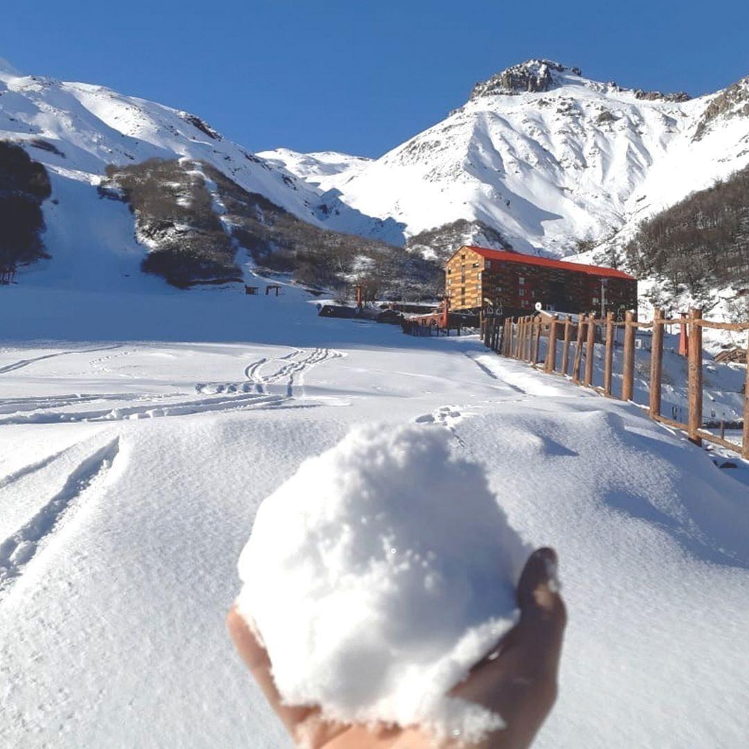 Nevados de Chillán: powder e fora da pista (Foto: Reprodução/Instagram)