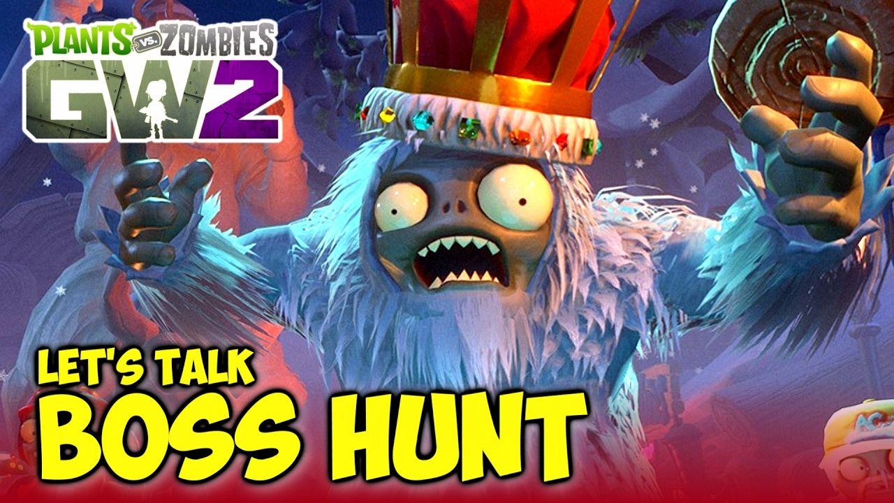 Let S Discuss Boss Hunt Yeti King Boss Hunt Gameplay Plants Vs Zombi Plant Zombie Plants Vs Zombies Zombie