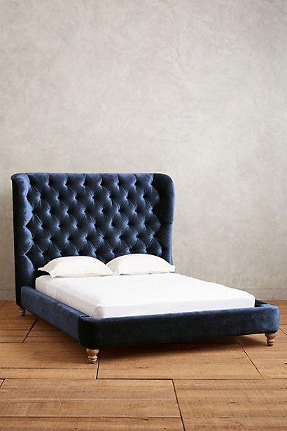 Tufted Wingback Bed - anthropologie.com | {decor & details ...