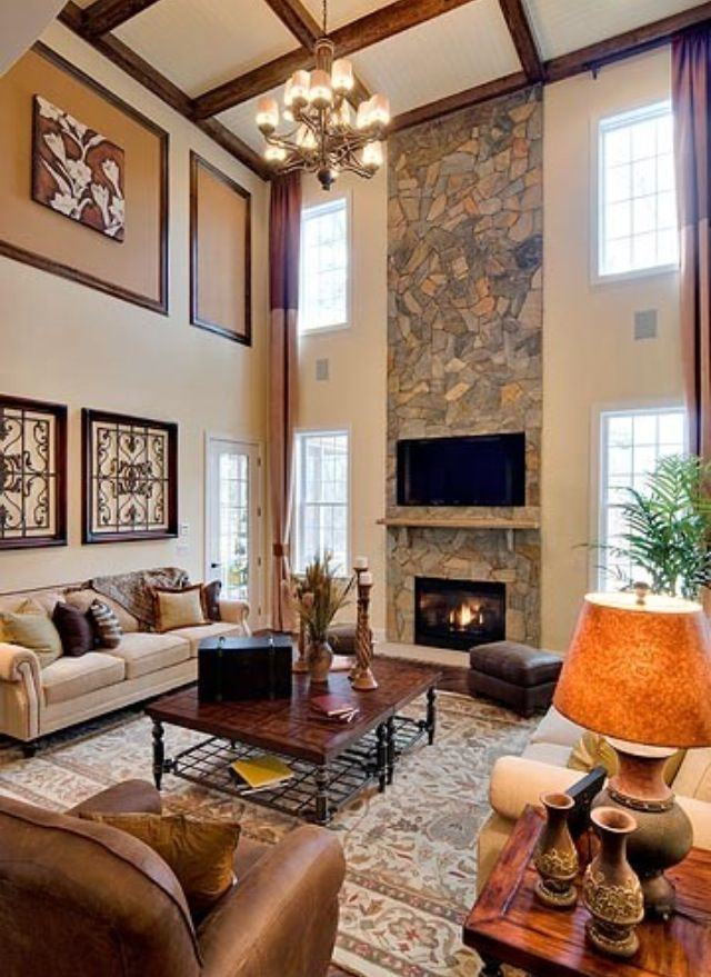 decorating living room walls with family photos animal print furniture ideas for contemporary fireplace built ins and tv nook