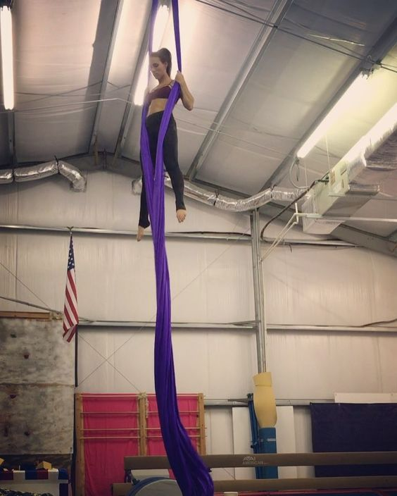 "296 Likes, 13 Comments - Kelsey Poitras (@kp_aerialist) on Instagram: ""Have to smooth this one out. So much to do lately 🐝🐝🐝 #aerialsilks #busybee #aerialist…"""