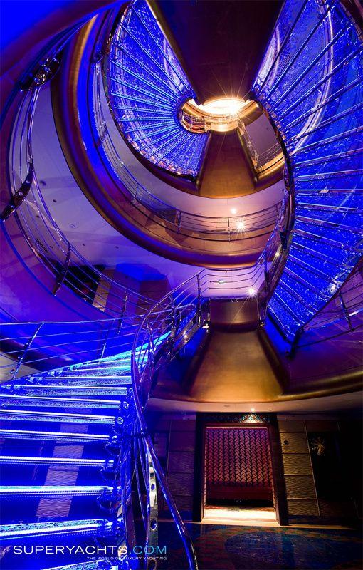 Luxury Yacht Engine Room: Dubai Yacht Photos - Platinum