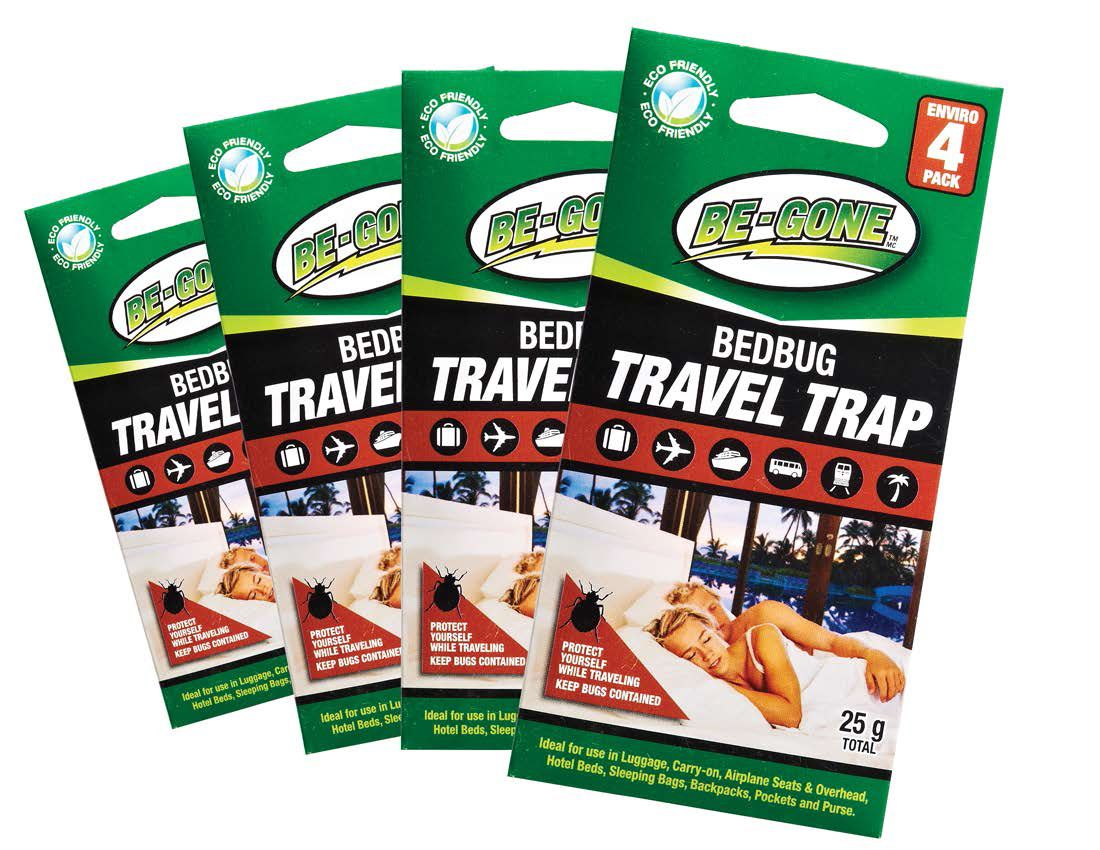 Great Stocking Gifts! BeGone Bedbug Travel Size Traps and