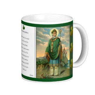 St. Patrick Mug w/prayer