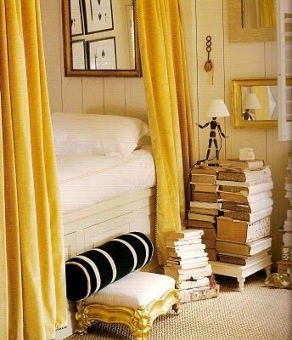 gardinen dekorationsvorschläge - tipps und bilder für ihr zuhause ... - Gardinen Dekorationsvorschläge Wohnzimmer