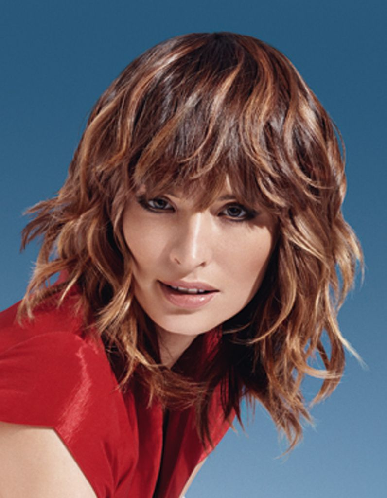 100 coiffures printemps-été 2013 | Coiffure, Cheveux mi long, Coupe de cheveux