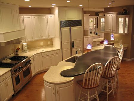Hardwood Kitchen Cabinets Custom Built Evansville Indiana Custom Built Cabinets Kitchen