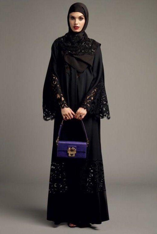 6831f9fbcdc77 مدل مانتو طرح عبا بلند زنانه 2019 جدید Dolce   Gabbana