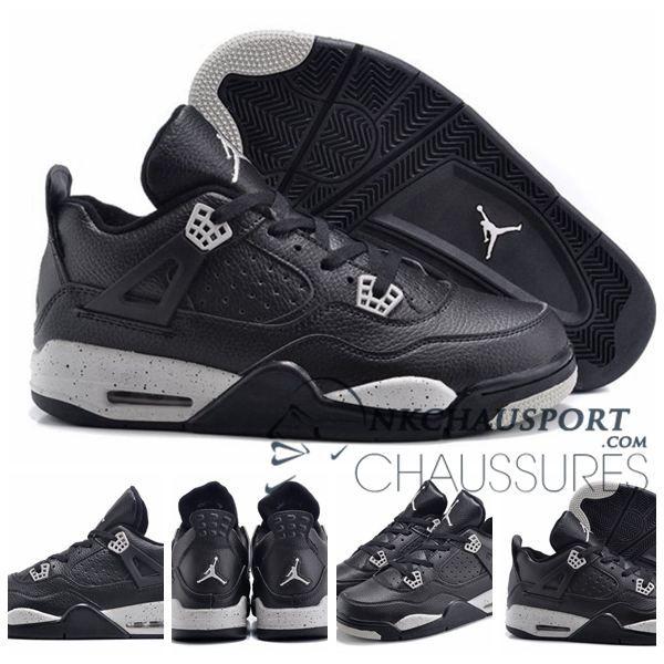 Nike Air Jordan 4 | Classique Chaussure De Basket Homme Noir-7