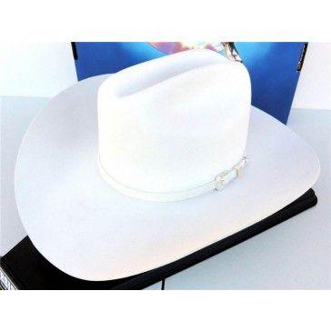 07de3131870 Resistol Cowboy Hat XX Premium Wool White Pageant
