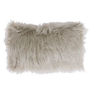 Shop for Thro by Marlo Lorenz Keller Faux Mongolian Rectangle Throw Pillow. Free Shipping on orders over $45 at Overstock.com - Your Online Home Decor Outlet Store! Get 5% in rewards with Club O!