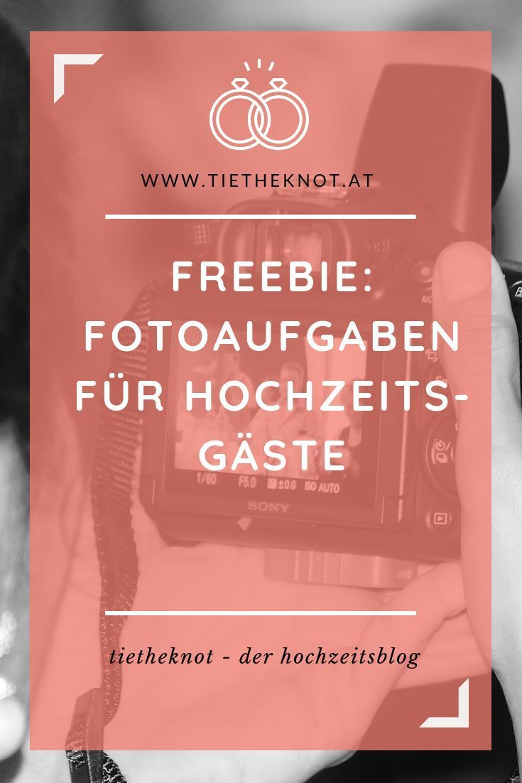 Photo of Photo tasks for the wedding: Funny tasks for your wedding guests
