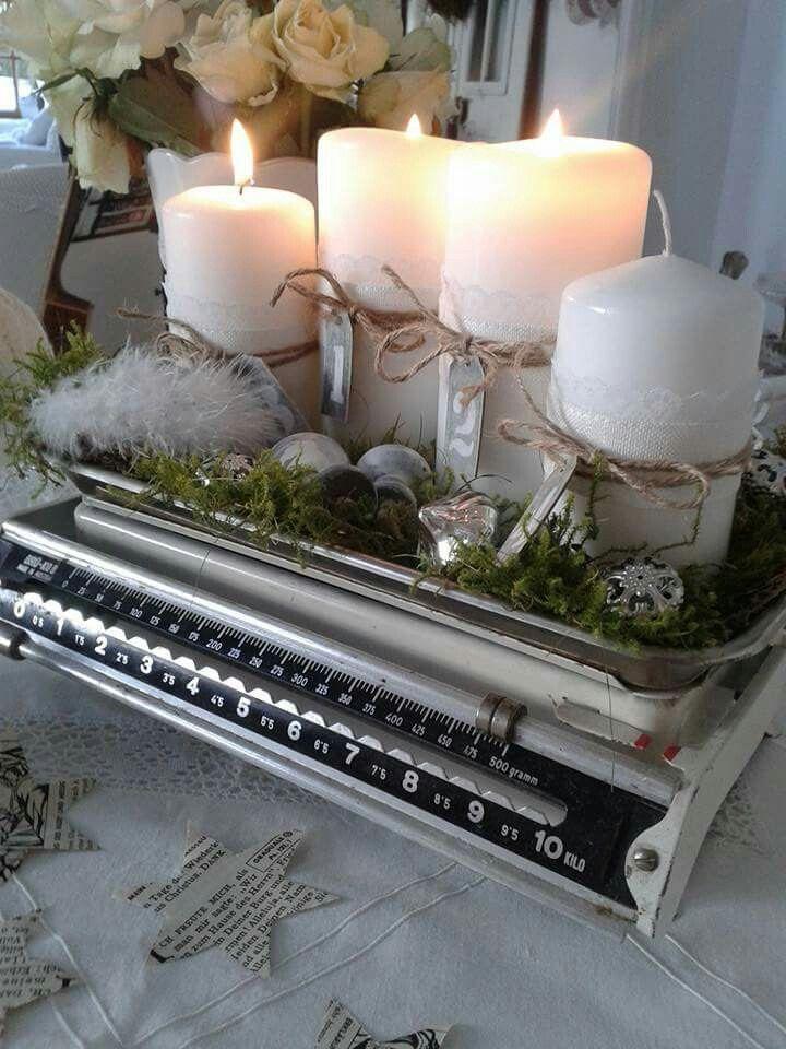 Deko - #Deko #kerzen #weihnachtendekorationtischdekoration