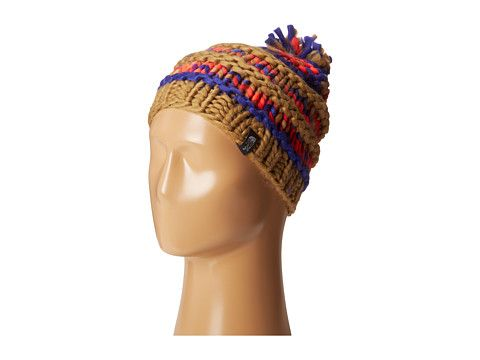a7e1a1d5213 The North Face Nanny Knit Beanie Tech Blue Rambutan Pink - Zappos.com Free