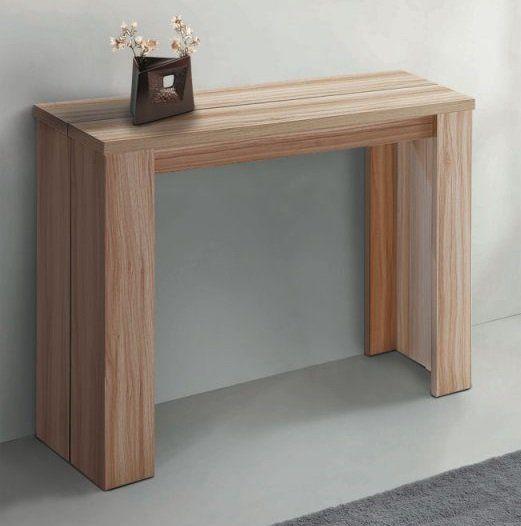Consola extensible madera buscar con google sal n muebles muebles ikea y madera - Mesa consola ikea ...