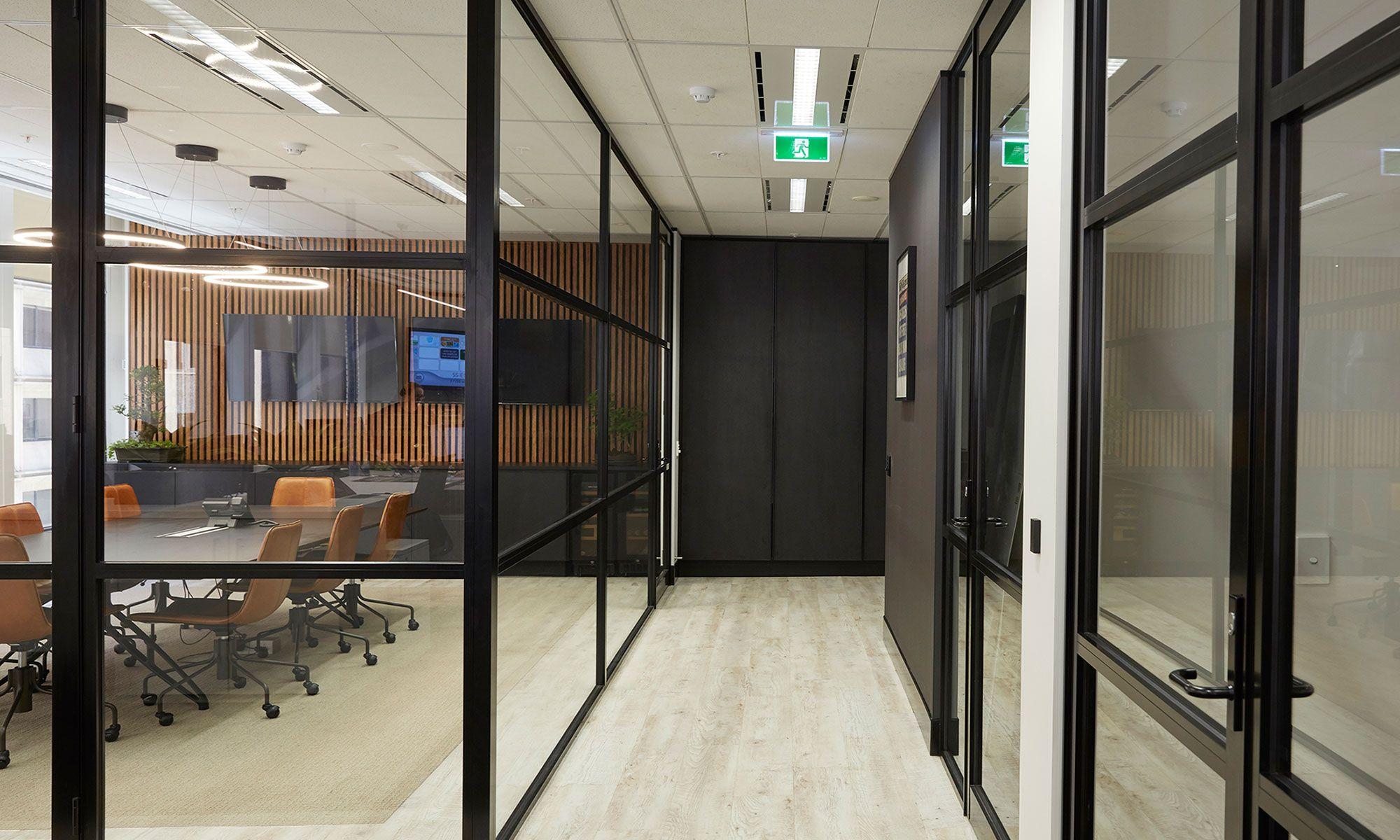 office corridor door glass. Stunning Office Corridor Featured In The Sydney Design And Fitout For Klein \u0026 Co. Door Glass S