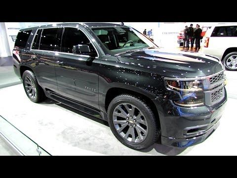 2015 Chevrolet Tahoe Ltz Black Edition Exterior Walkaround
